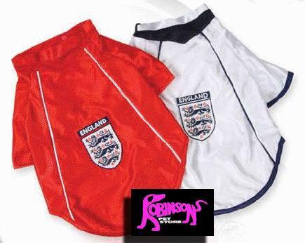 England Football Shirt For Dogs
