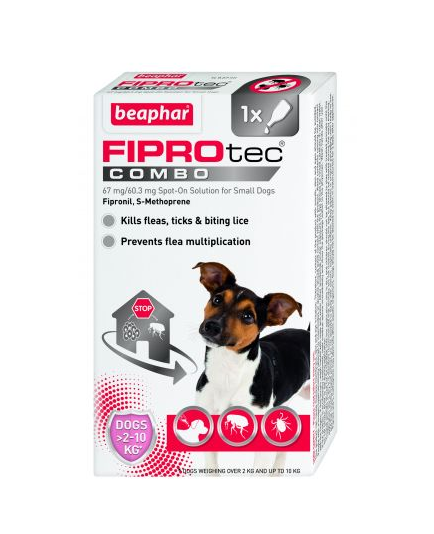 Beaphar FIPROtec® Combo Spot-On for Small Dogs Price From