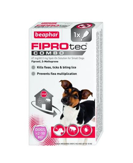 Beaphar FIPROtec® Combo Spot-On for Small Dogs
