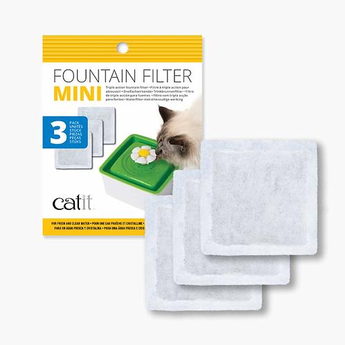Senses Mini Flower Fountain Filter 3pk