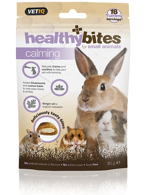 Vetiq Small Animal healthybites Calming Treats 30g