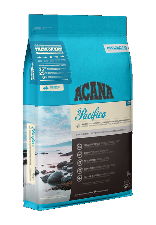 Acana Cat Pacifica 340g, 1.8kg, 5.4kg. Price from