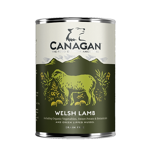 Canagan Welsh Lamb 400g for adult dogs