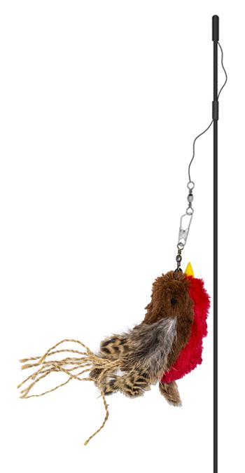 Magic Wand Flying Furball Teaser Cat Toy