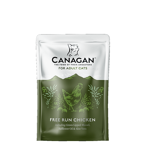 CANAGAN POUCH FREE RUN CHICKEN FOR ADULT CATS 85g
