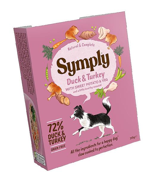 Symply Duck & Turkey Adult Dog Food 395g