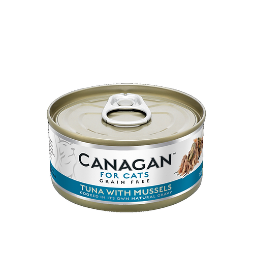 CANAGAN TUNA WITH MUSSELS FOR ALL LIFESTAGES 75g