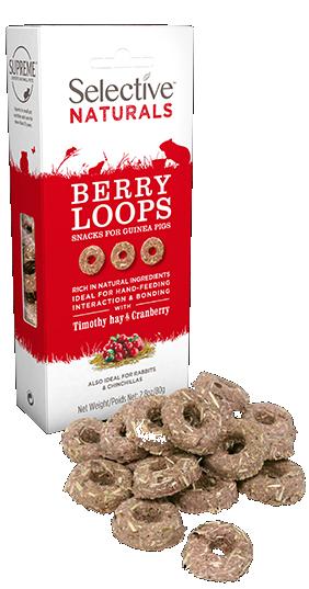 Selective Naturals Berry Loops 80g