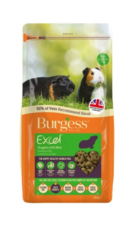 EXCEL ADULT GUINEA PIG NUGGETS WITH MINT 2kg