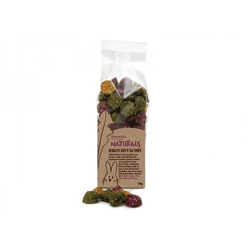 Naturals Grainless Herb n Veg Drops 140g
