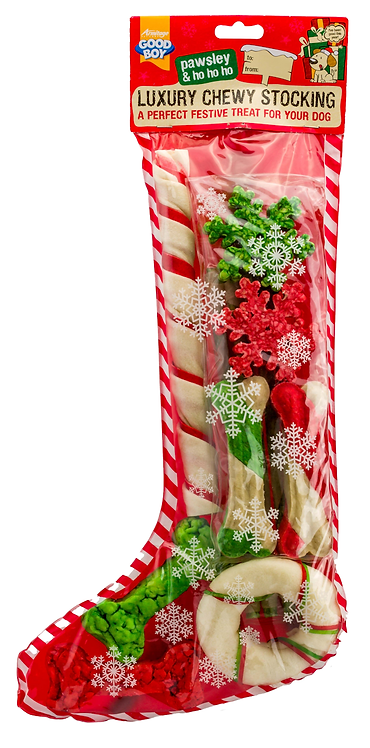 Luxury Chewy Dog Christmas Stocking