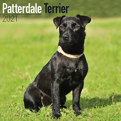 2021 Patterdale Terrier Calendar