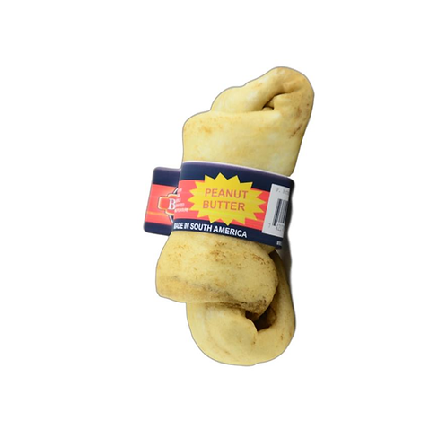 Bravo Rawhide Knot Chew. Peanut Butter Flavour. Price from