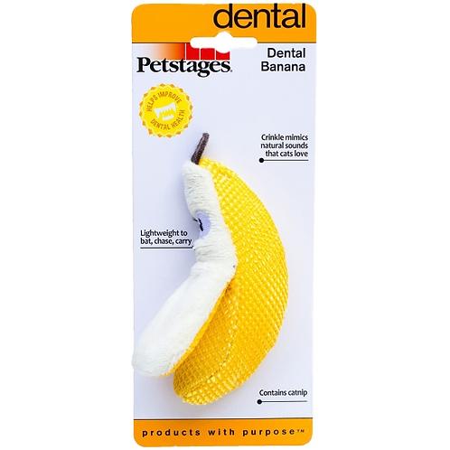 Dental Banana Cat Toy