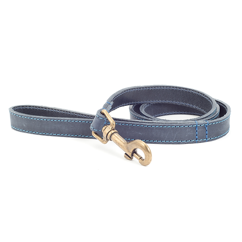 TIMBERWOLF LEATHER LEAD BLUE 1mX19mm