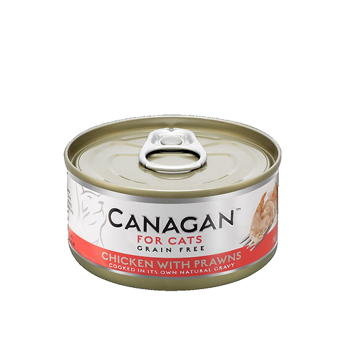CANAGAN CHICKEN WITH PRAWNS FOR ALL LIFESTAGES 75g