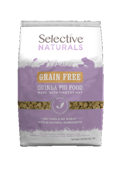 Selective Naturals Grain Free Guinea Pig Food 1.5kg