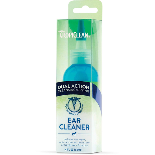 TROPICLEAN DUAL ACTION EAR CLEANER FOR PETS 118ml