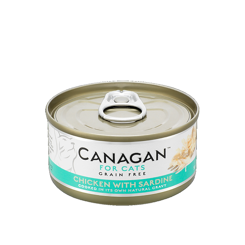 CANAGAN CHICKEN WITH SARDINE FOR ALL LIFESTAGES 75g