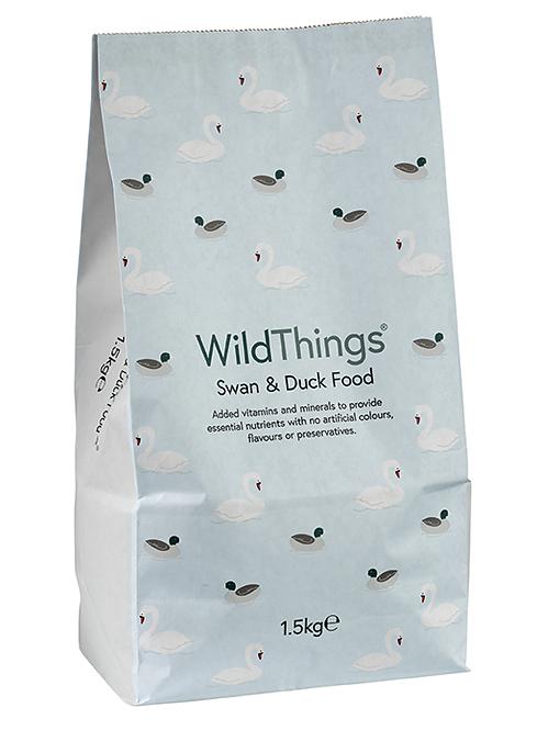 Wild Things Swan & Duck Food