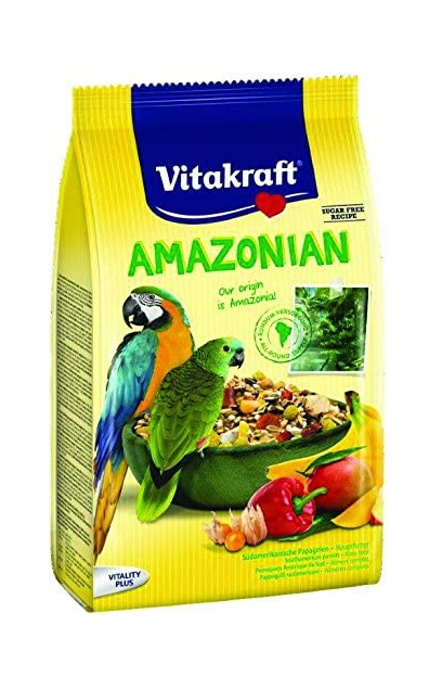 Vitaktaft Amazonian Parrot Food 750g