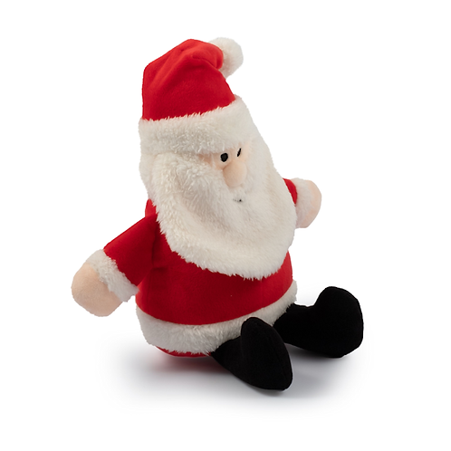 Cuddly Santa Toy With Squeak