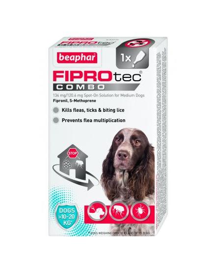 Beaphar FIPROtec® Combo Spot-On for Medium Dogs Price From