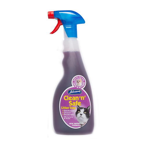 Clean 'n' Safe Litter Tray Disinfectant 500ml