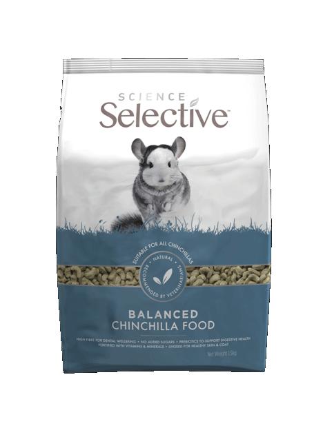 Science Selective Chinchilla 1.5kg