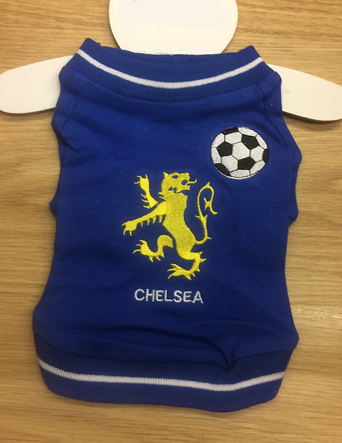 Chelsea Supporter T-Shirt For Dogs xxs