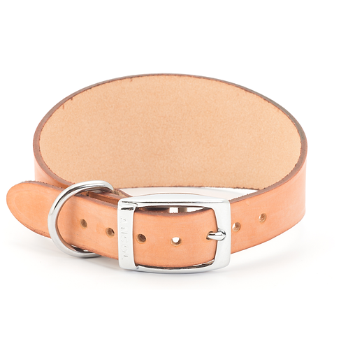 HOUND LEATHER COLLAR TAN. Price from