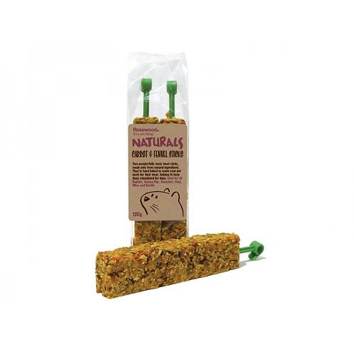 Naturals Carrot & Fennel Sticks 120g