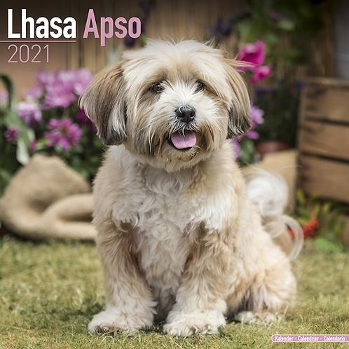 2021 Lhasa Apso Calendar