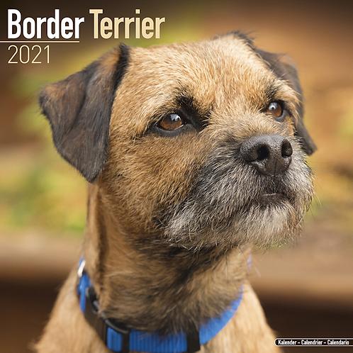 2021 Border Terrier Calendar