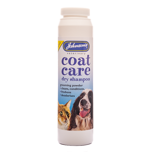 Coat Care Dry Shampoo for Cats & Dogs 85g