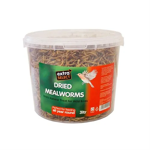 Dried Mealworms 3 litre