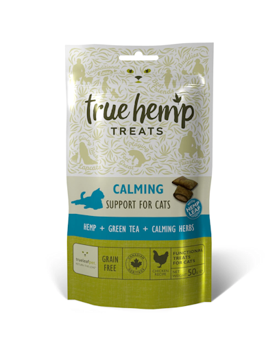 True Hemp Calming Treats for Cats 50g