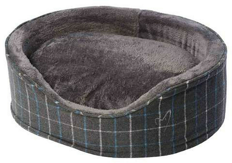 Premium Grey Check Bed.  Price from