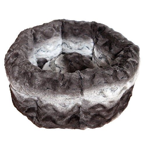 40 Winks Grey & Cream Snuggle Bed 15""
