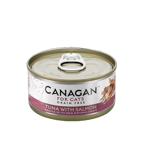 CANAGAN TUNA WITH SALMON FOR ALL LIFESTAGES 75g