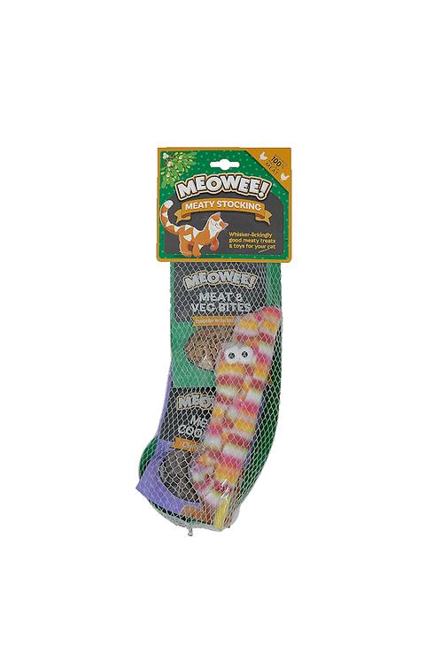 Meowee! Meaty Cat Treat Stocking