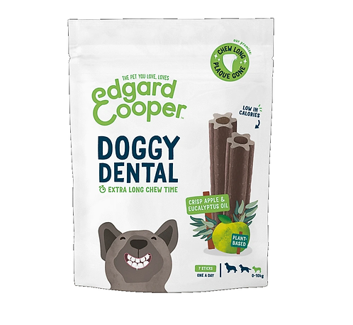 Edgard & Cooper Doggy Dental Chew 7pk. Small, Medium, Large. Price From