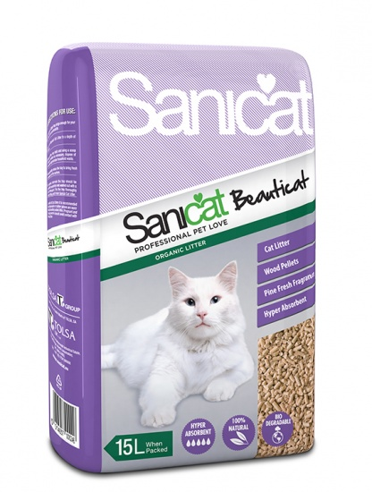 Sanicat Beaiticat Litter 15l, 30l . Price from