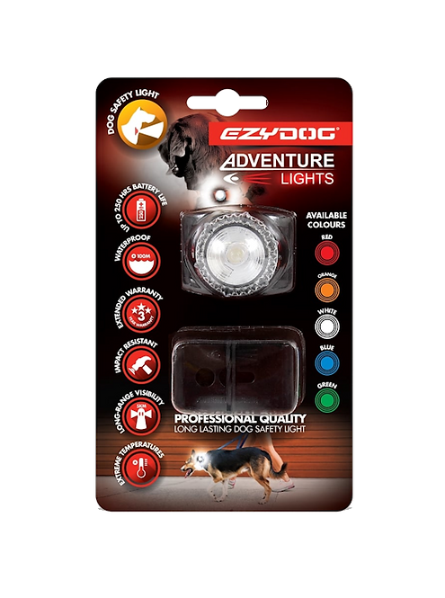 Adventure Dog Light White