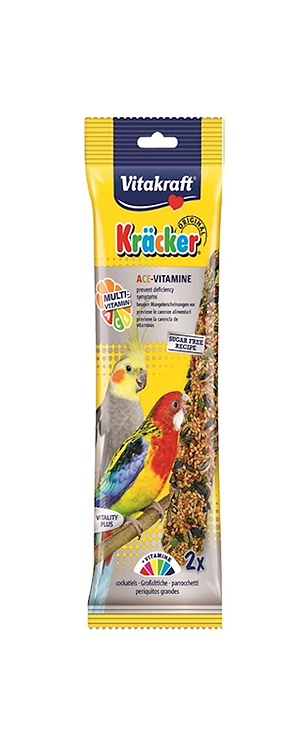 Vitakraft Cockatiel Kräcker ACE Vitamin. Twin Pack