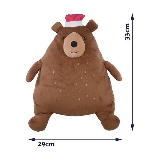 Festive Giggling Big Bear