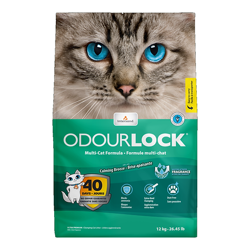 Intersand Odourlock Cat Litter Calming Breeze 6kg, 12kg Price from