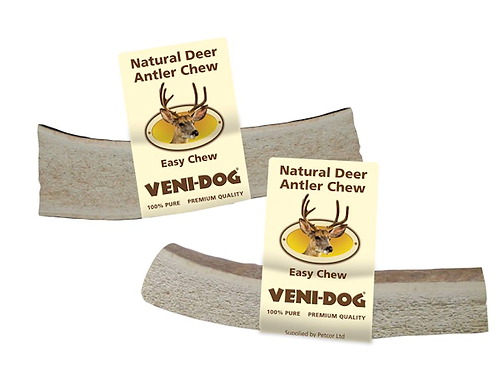 Veni-Dog Deer Antler Splits Easy Chew.