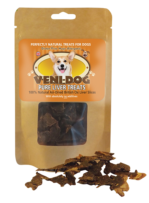 Veni-Dog Ox Liver Treat 40g