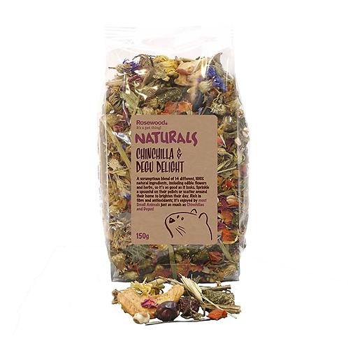 Naturals Chinchilla & Degu Delight 150g